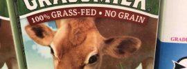 Carton of Grass Fed Milk