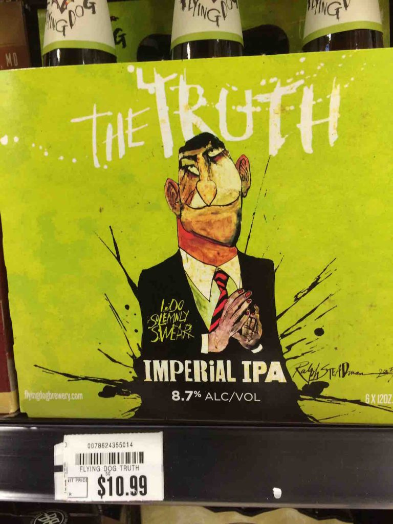 Beer Carton named The Truth