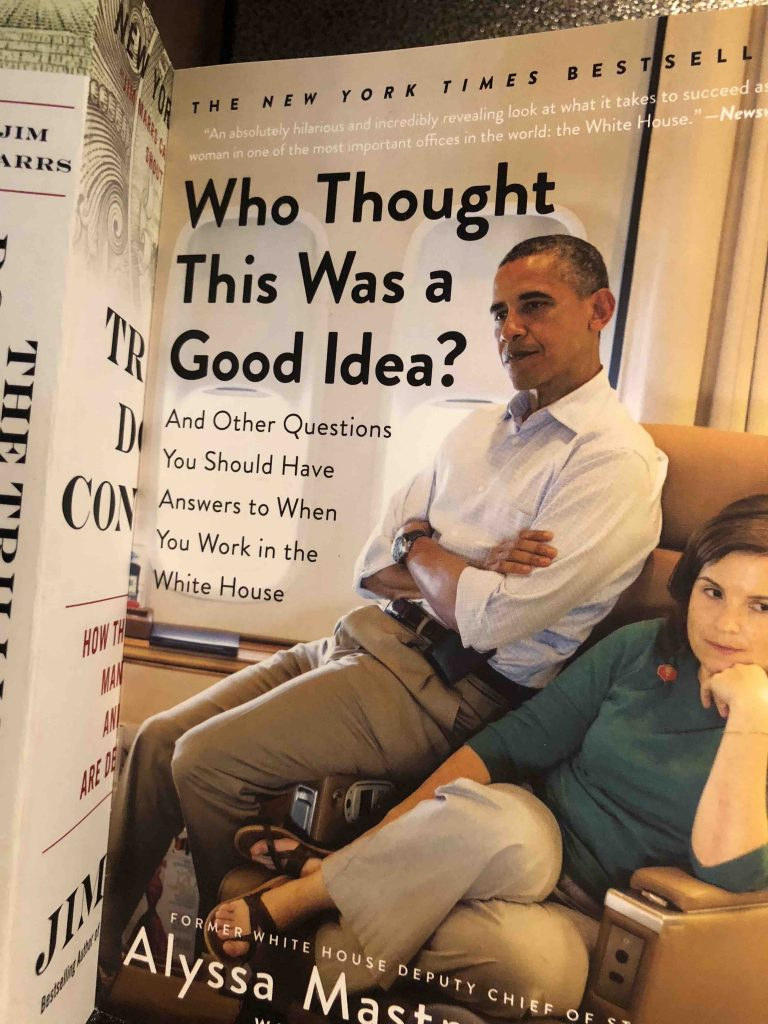 """Picture of Obama saying, """"Who Thought This Was A Good Idea?"""""""