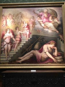 Oil Painting - Jacob's Dream by Giorgio Vasari and his workshop 1557-58