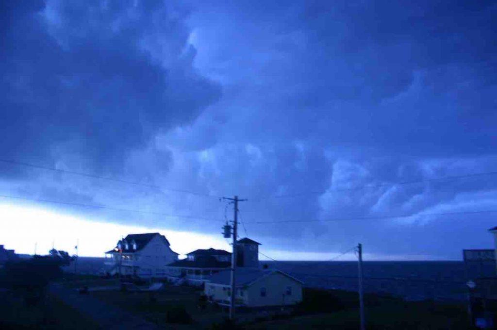 Storm Clouds, Avon NC