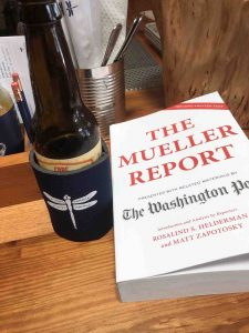 Mueller Report and a beer